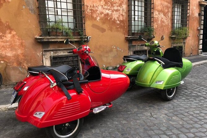 Rome Vespa Sidecar Private Tour