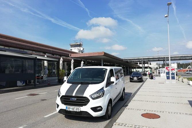 Transfer from Portoroz to Ljubljana Airport