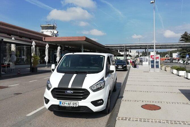 Transfer from Koper to Ljubljana Airport