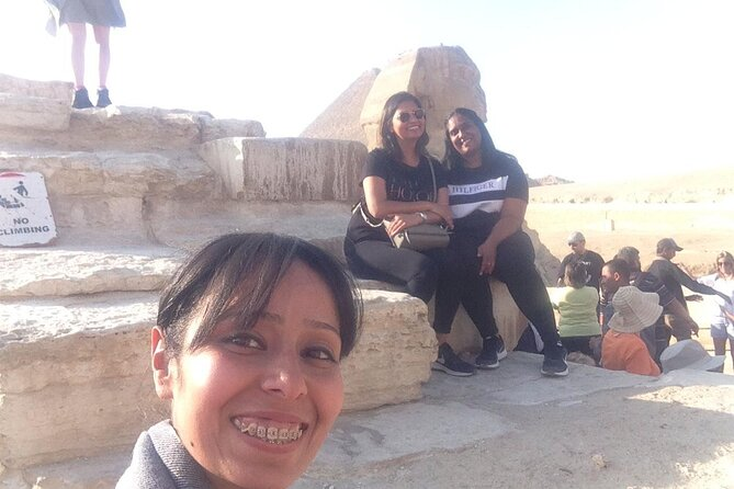 Half day Guided tour to Giza pyramids Sphinx with 45 min Camel ride