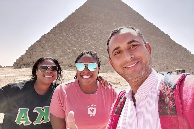 Full-Day Giza Pyramids and Cairo city Tour with lunch