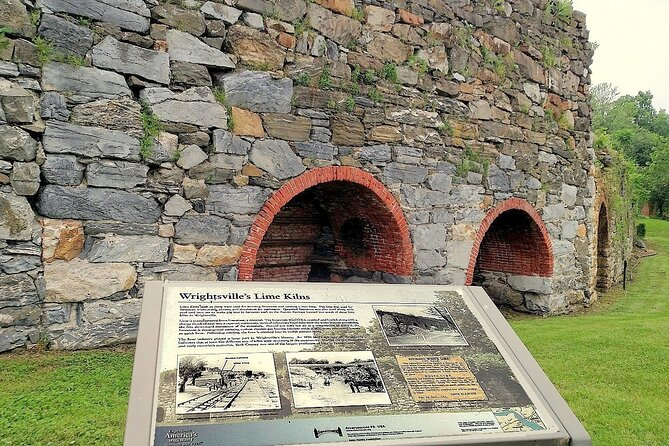 Lime kilns or furnaces, Wrightsville, where formerly enslaved Africans worked, many earning wages for the first time.