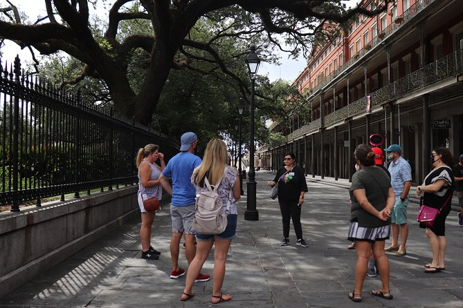 Guided Walking Tour in the historical French Quarter