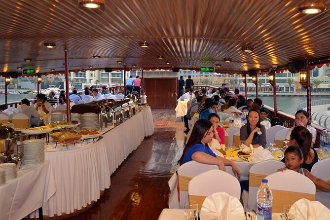 Luxury Dhow Cruise in Dubai Marina With International Buffet with live shows