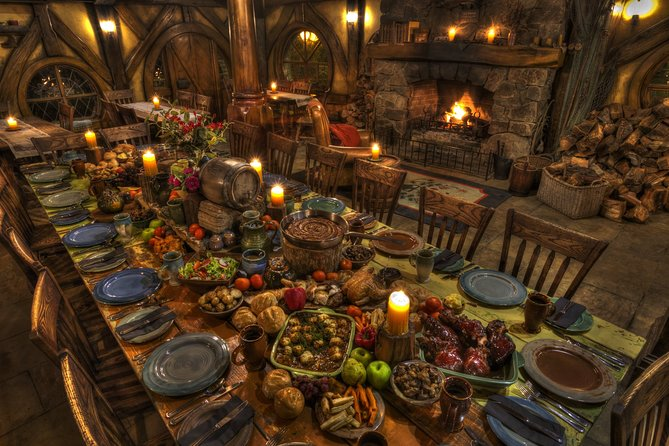 Hobbiton Movie Set Banquet Tour