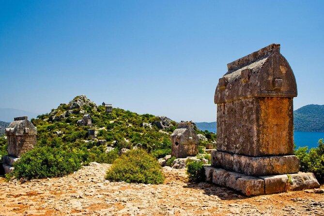 Fethiye Lycian Stone Sarcophagi