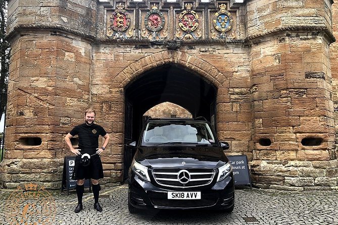 Edinburgh Half Day Guided Private Tour in a Premium Minivan