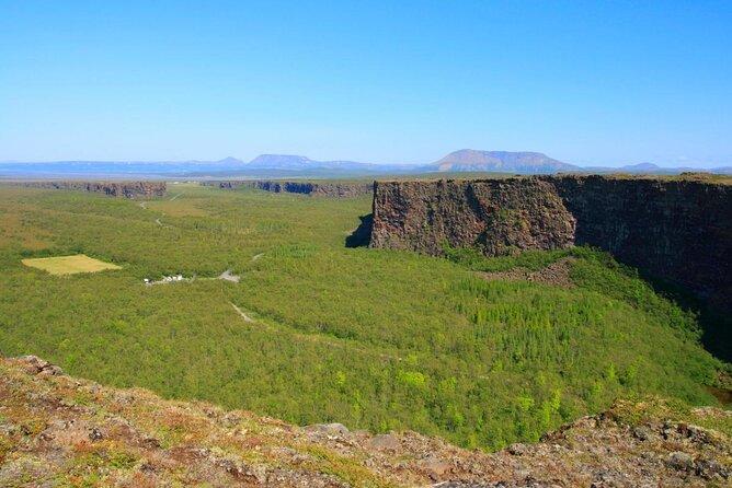 Canyon d'Ásbyrgi