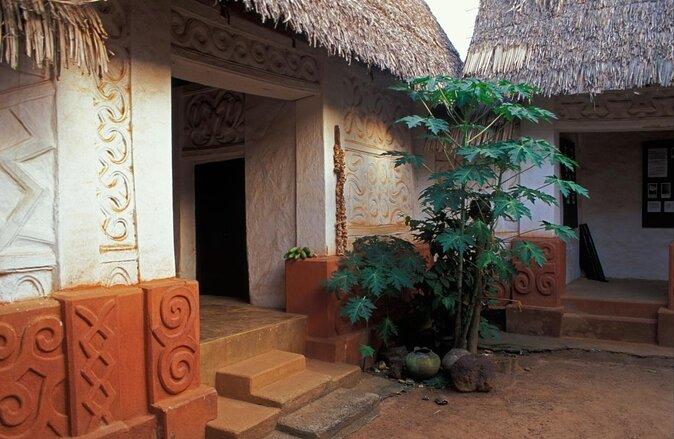 Bâtiments traditionnels d'Asante