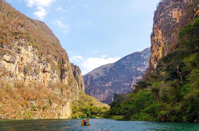 Parco nazionale del Canyon Sumidero (Parque Nacional Canón del Sumidero)