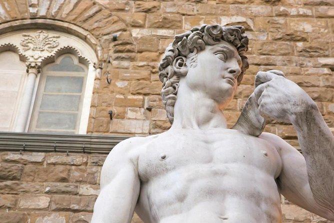 Statue de David de Michel-Ange (Il Davide di Michelangelo)