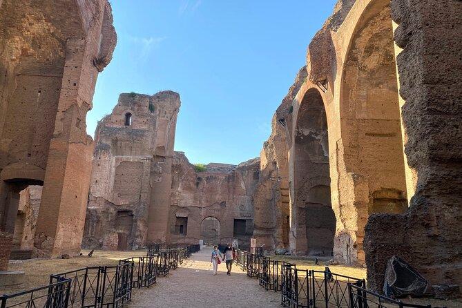 Private Tour in Caracalla Baths and Circus Maximus