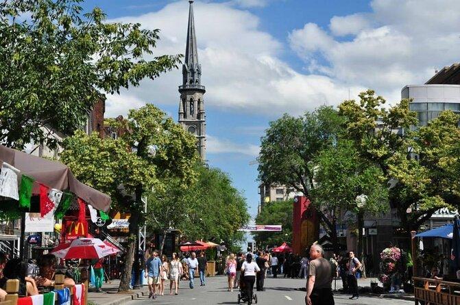 Montreal Latin Quarter (Quartier Latin)
