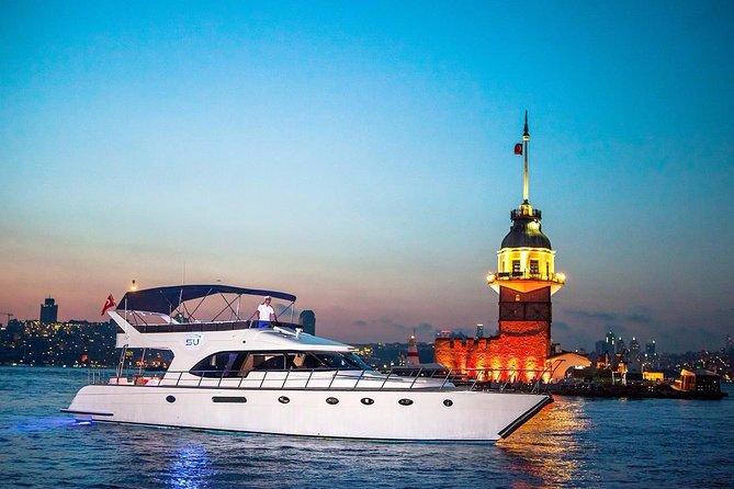 Private Sunset Cruise on Luxury Yacht Bosphorus