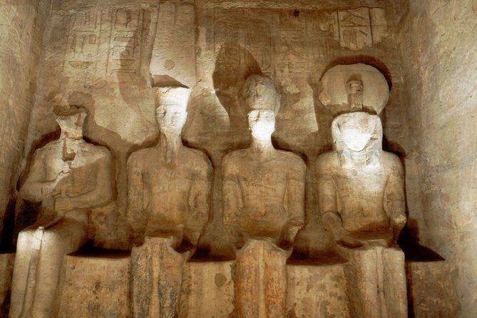 Abu Simbel from Aswan include Entrance fees