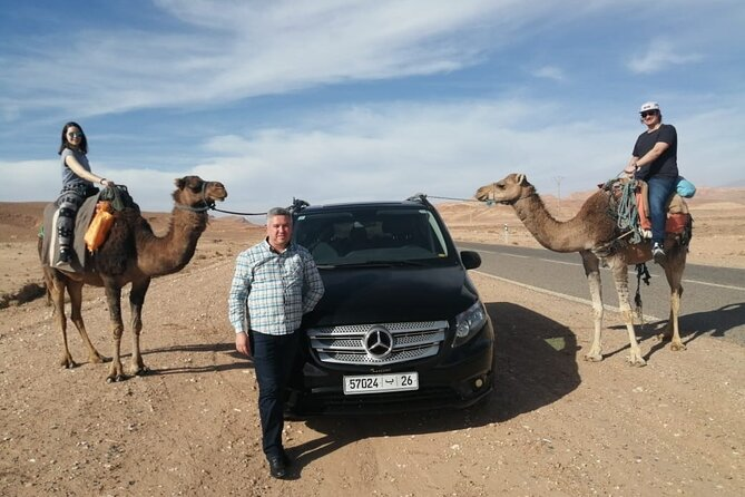 Private Atlas Mountains with Visit to Local Berbers Ecomusuem and Camel ride