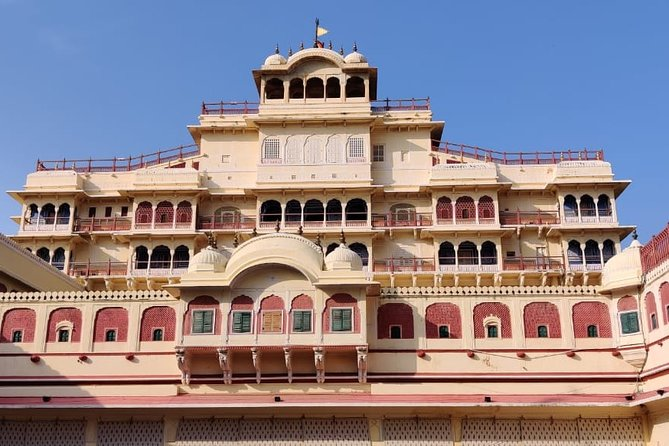 Full-Day Private Sightseeing Tour at Jaipur