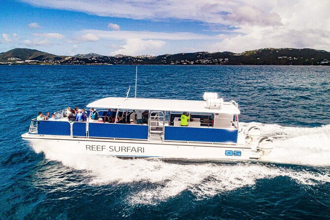 Half day snorkel and sunset Tour from St Thomas
