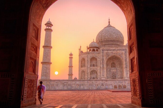 Taj Mahal Skip-the-Line Entrance Ticket Agra: All Inclusive