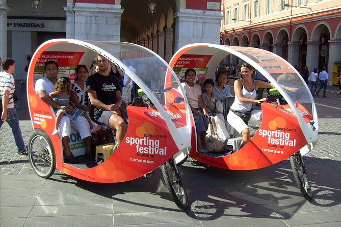 Private Guided Tour in a Pedicab in Nice