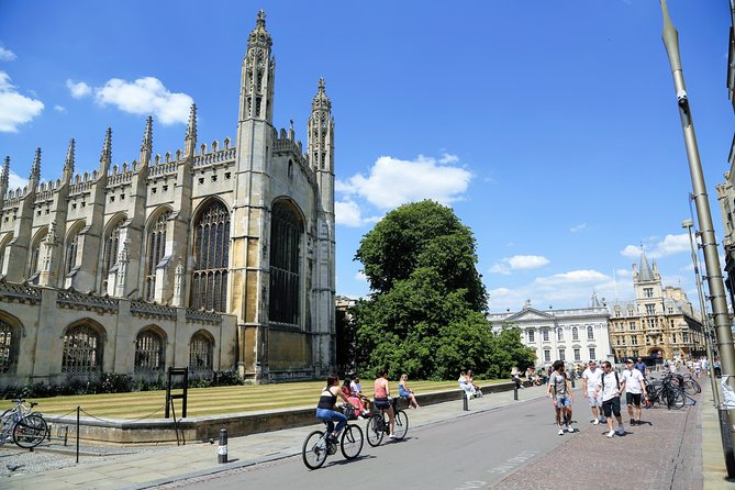 Private Virtual Walking and Punting Tour of Cambridge