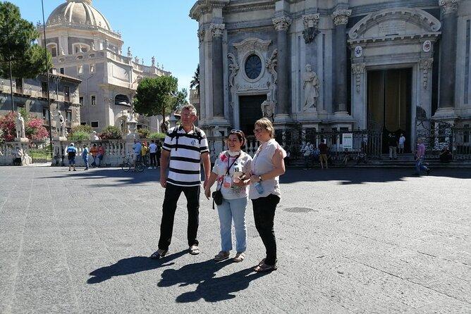 Catania walking Tour small group