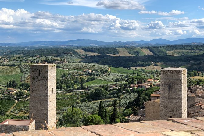 Full Day Private Tour from Florence San Gimignano and Volterra with Wine Tasting