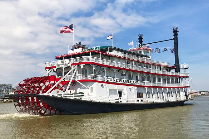 Cruise met stoomboot in haven van Natchez