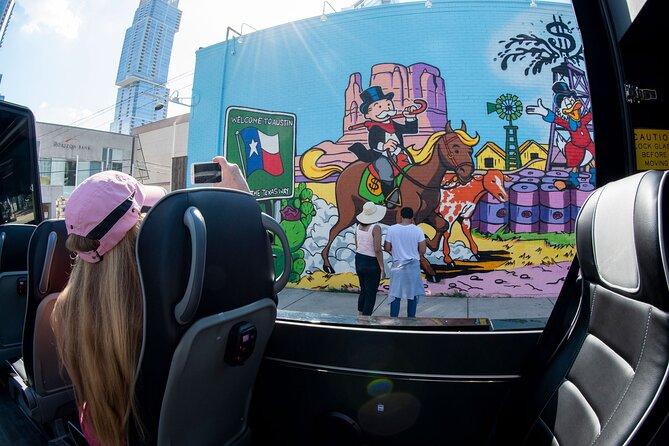 Panoramic Mini Bus Tour of Austin