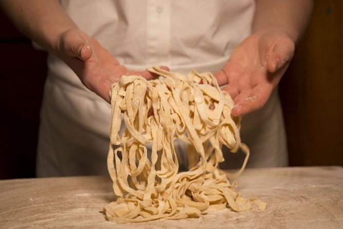 Pasta Class - Fettuccine Making in Rome