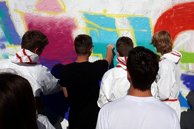 Open graffiti workshop in the Mauerpark in Berlin