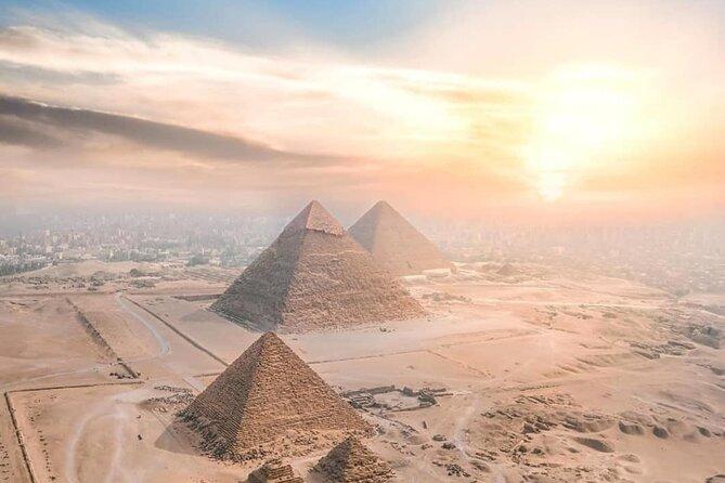 TOURS VISIT GIZA PYRAMIDS Egyptian Museum &Khan Al-Khalili & NILE DINNER CRUISE