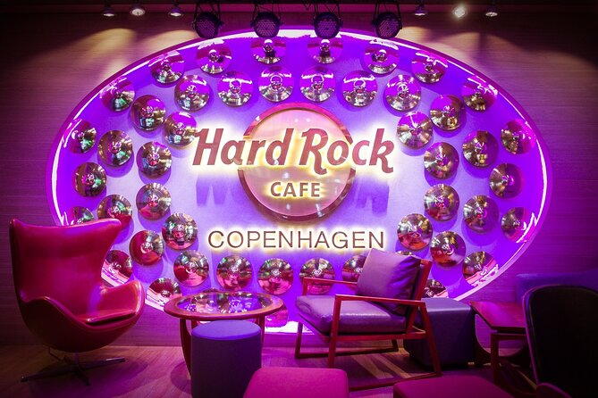 Skip the Line: Hard Rock Cafe Copenhagen Including Meal