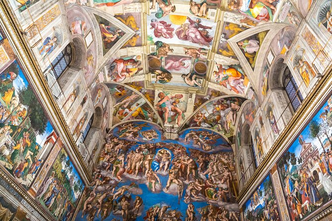 Semi PVT tour – Vatican Museums & Sistine Chapel with Raphael rooms