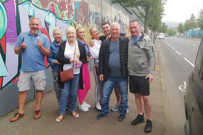 Belfast's Political Mural Taxi Tour
