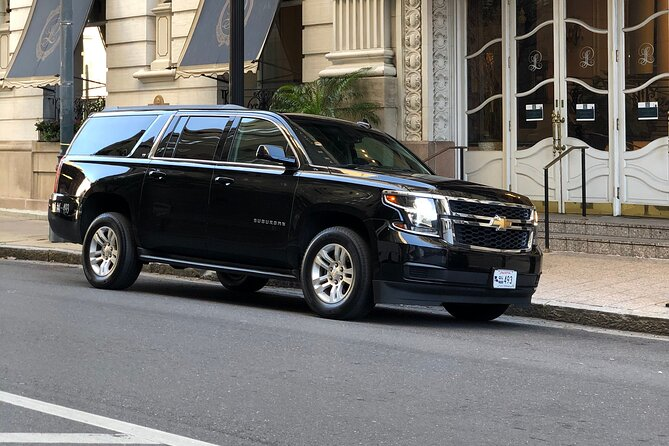 1-4 Hour New Orleans Private Chauffeured Transport by Executive SUV