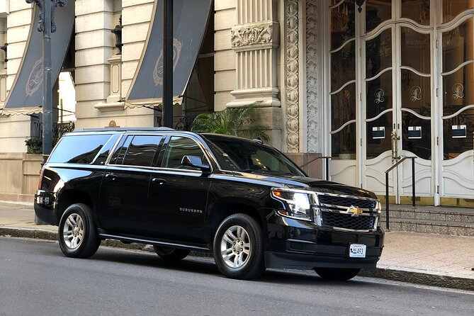 New Orleans to Baton Rouge Chauffeur Driven Transport by Executive SUV