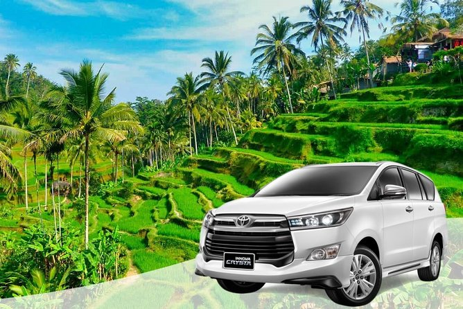 Private City Transfer from Ubud or Gianyar + Free WiFi