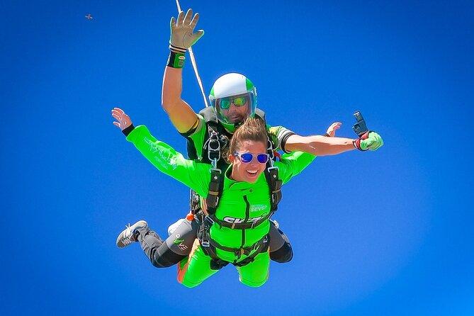 Algarve Tandem Skydive 10.000ft — 3500m