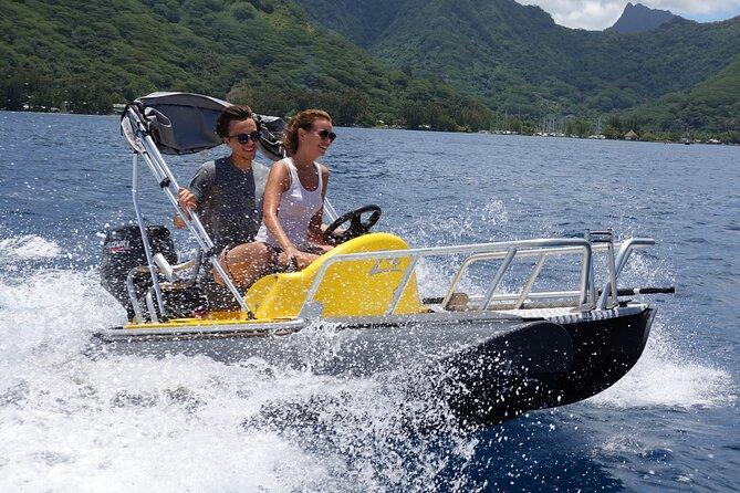 Boat Rental at Moorea