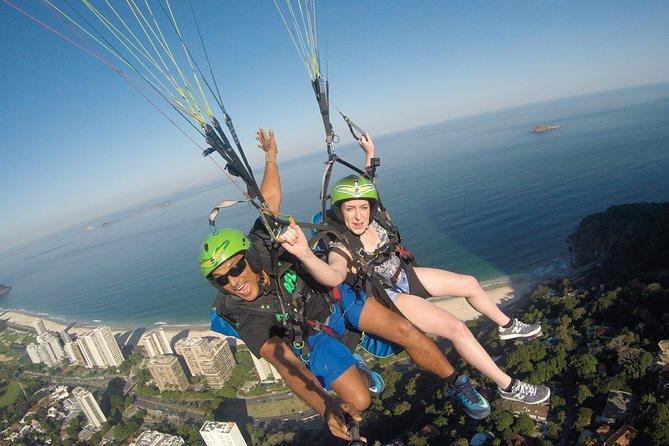 Paragliding - Experience in Rio de Janeiro