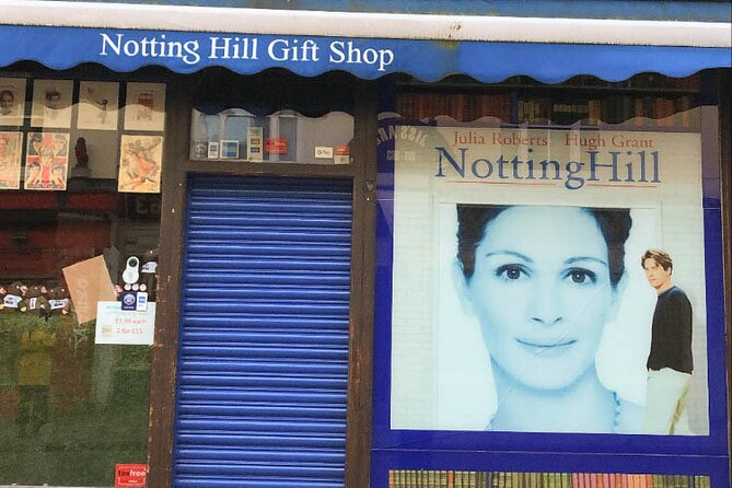 Private Notting Hill Driving Tour in London with Iconic Photo Ops