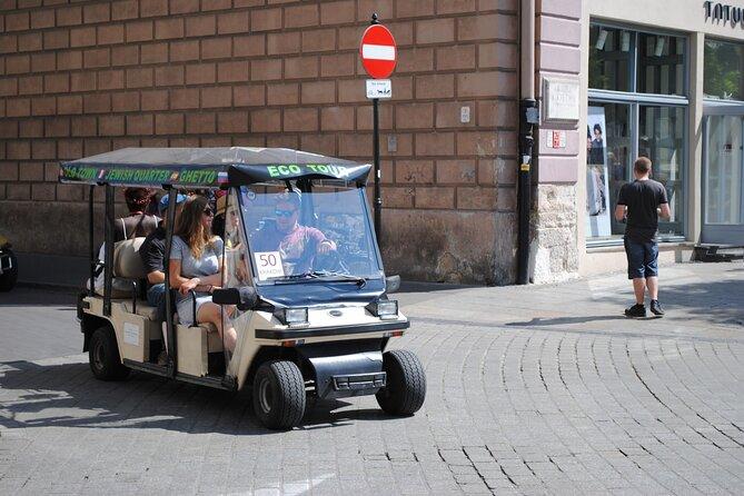 Krakow City Tour by Golf Cart