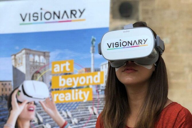 Augmented and Virtual Reality Small Group Tour in Lecce