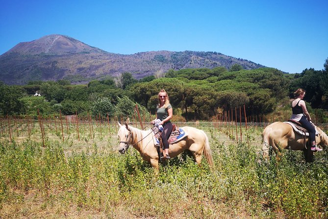 Horseback Riding on Vesuvius