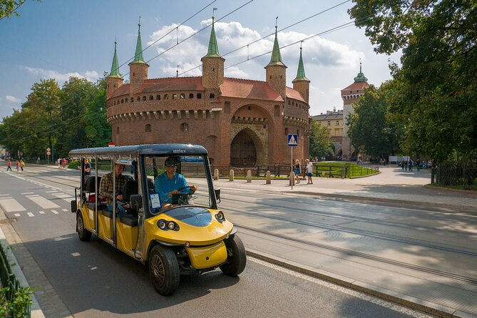 Krakow in One Day: City Tour by Electric Car with optional Schindler's Factory