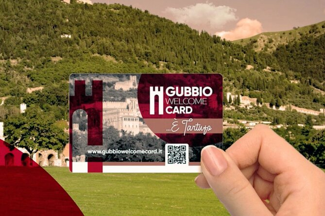 Gubbio Welcome Card Special Truffle