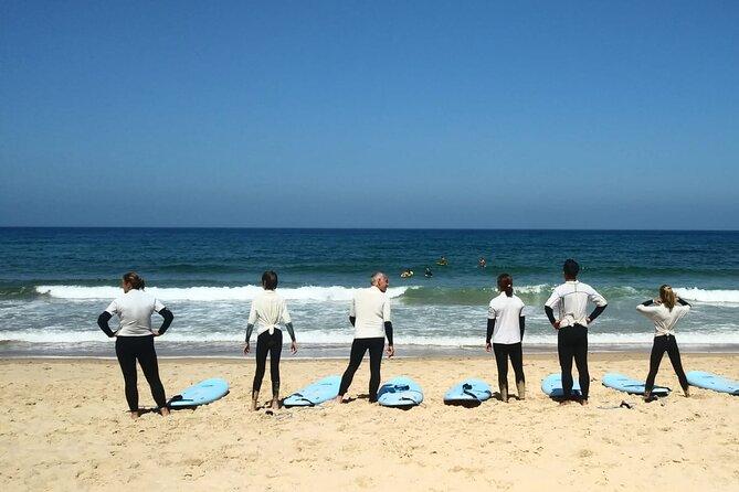 Shared Surfing Lesson at Praia da Rocha