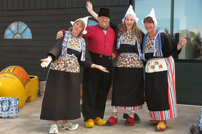 Dutch Experience in Volendam with Traditional Outfits
