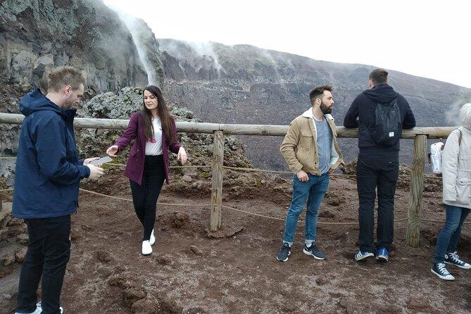 Mt Vesuvius half day tour all inclusive from Naples